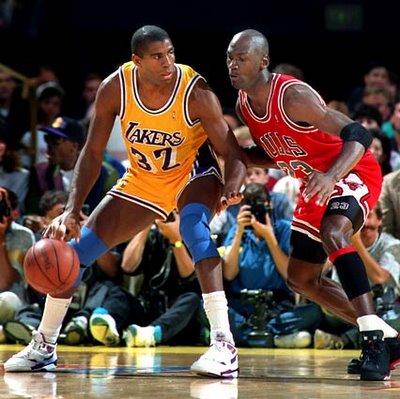 Michael Jordan o Magic Johnson