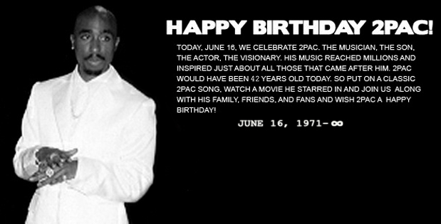 2pac birthday